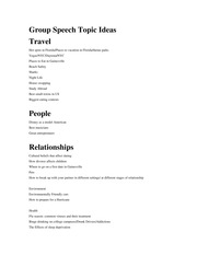 persuasive speech topic ideas persuasive speech topic ideas  3 pages group speech topic ideas