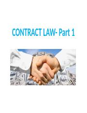 Lecture 7 - Contract Law - Pt 1 (1).pptx