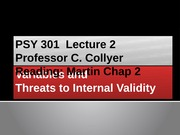 02 Variables and Threats to Internal Validity