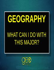 Geography Major for classes.ppt