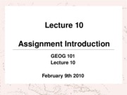 GEOG101_-_Lecture_10