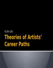 Theories of Artists' Career Paths.pptx