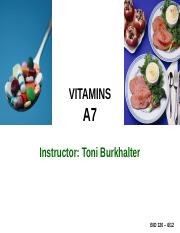 A7_LECTURE_-VITAMINS_-_FALL_2012