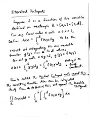 iterated integrals