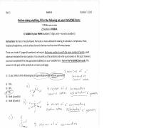 F16 Chem 1C Quiz 1 Form A with answers worked out.pdf