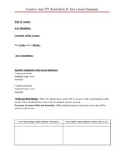 Lesson Plan Template Blank_CA177_Sp 2010