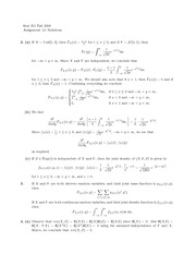 probability Assignment 1 Solutions