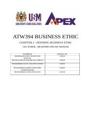 Business Ethic Case Study 2.docx