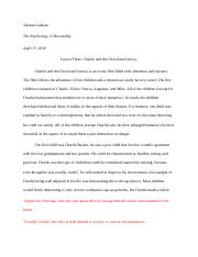 Introduction to Personality Assignment 3.docx