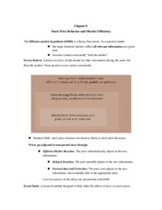 Tutorial 7 handout (Ch 8 and 9)