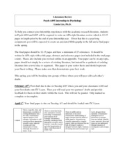 Literature Review Instructions_SP14_Psych4495.01