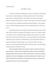 Social Reflection Paper