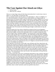 PHI363The Case Against Our Attack on Libya