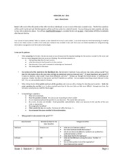 Consolidated Study Material Exam 1