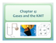 Chapter 4 Gases and the KMT