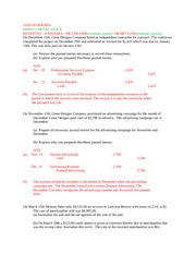 ACCT 210 Final Study Guide
