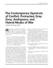 The Contemporary Spectrum of Conflict.pdf