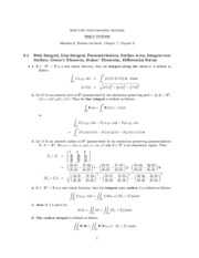 DifferentialFormsLineSurfaceIntegrals