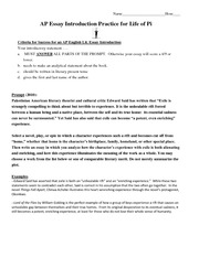 Introduction Practice Notes