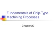 Fundamentals of Chip-Type Machining Processes_1