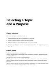 COM_113_CH_5_SELECTING_TOPIC_AND_PURPOSE