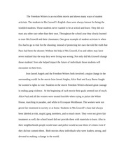 iron jawed angels essay iron jawed angels took place in  2 pages the dom writers blog