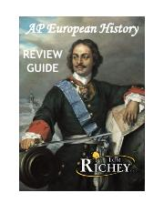 AP EURO REVIEW GUIDE