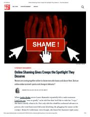 Online Shaming Gives Creeps the Spotlight They Deserve - The Daily Beast.pdf