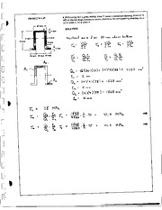697_Mechanics Homework Mechanics of Materials Solution