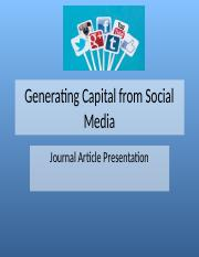 Generating Capital from Social Media Slides 1-3 -CH.pptx
