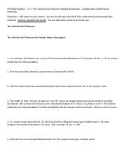 MTH200 Statistics – Ch 7 Week 8 Homework – Guided Notes AND Practice Problems.docx