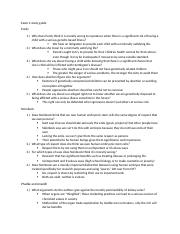 PHIL 309 EXAM 4 STUDY GUIDE.docx