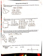 review part of homework 10