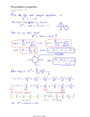 Trig Identities and a very important prob from Section 12.10