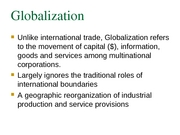 3 Globalization notes(2)