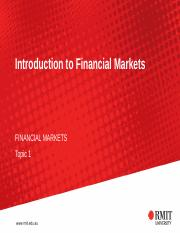 Topic - 1 Introduction to Financial Markets(2).pptx