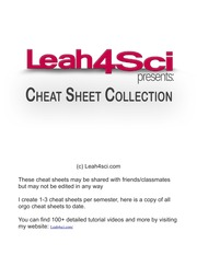 Leah4sci-Orgo-Cheat-Sheet-Collection
