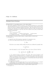 Physics 1 Problem Solutions 100