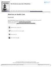 9.25_Hill 2010 Abortion as Health Care.pdf