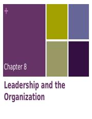 Marketing Leadership & Planning Sept 2015 8 - 11