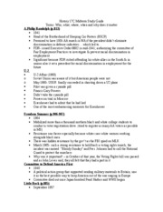 History 17C Midterm Study Guide