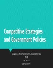 Competitive Strategies and Government Policies(2).pptx