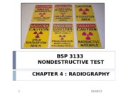 Chapter 4 Radiography