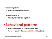 L8 Behaviour Patterns