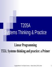 T551 Linear Programing.ppt