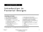 Lecture5 factorial design for Design of Engineering Experiments
