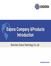 Excera and products introduction.pdf