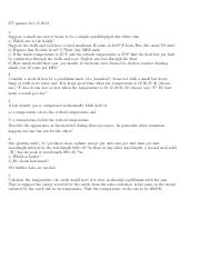 PHY 205 Fall 2014 Recitation Questions 6