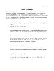 Mod 7 exam review ANSWERS - Module 7 Exam Review ANSWER ...