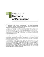 The is the obligation of a persuasive speaker to prove that a
